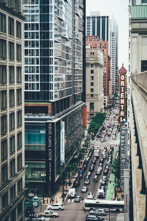 architektur, autos, chicago