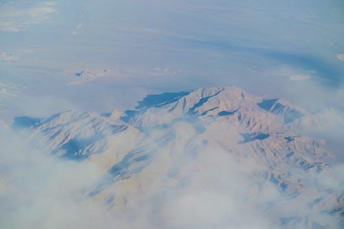 Ingyenes stockfotó felülről, festői, hegyek, hideg témában