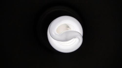 宏觀, 燈泡, 黑色背景 的 免费素材照片