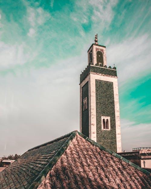 伊斯兰建筑, 伊斯蘭, 伊斯蘭教, 多雲的天空 的 免费素材照片