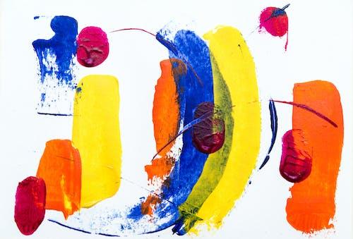Darmowe zdjęcie z galerii z abstrakcyjny, artystyczny, farba, intensywny kolor