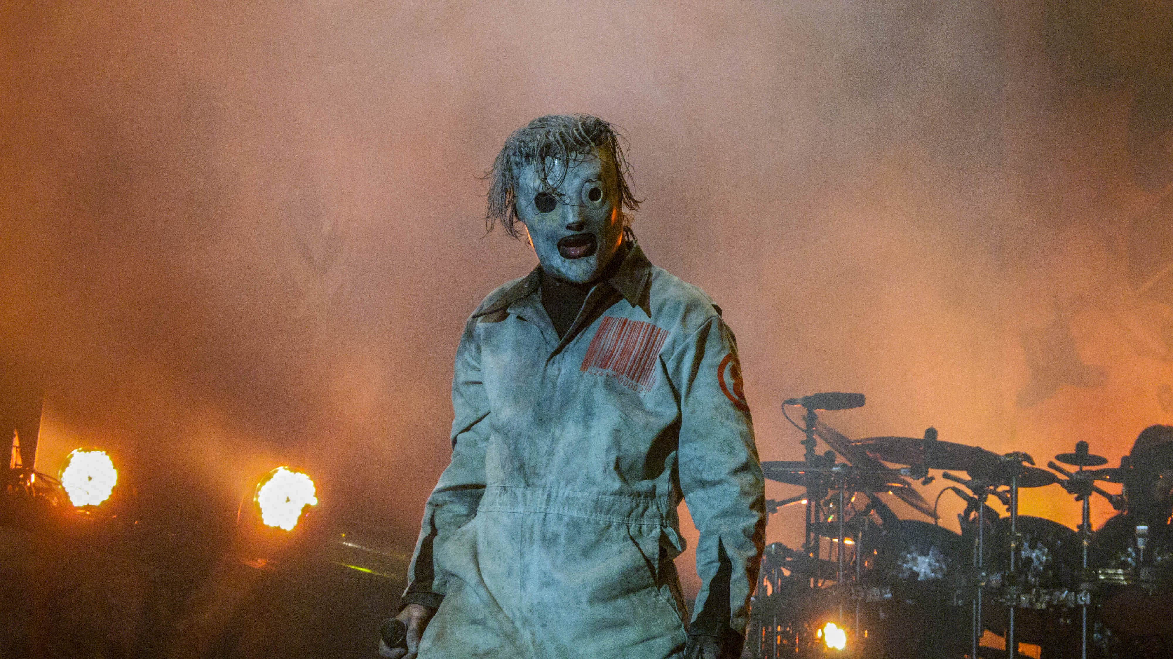 Free stock photo of Slipknot - Graspop 2013