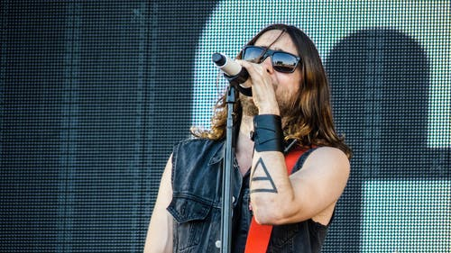 Foto stok gratis 30 seconds to mars - rock werchter 2013