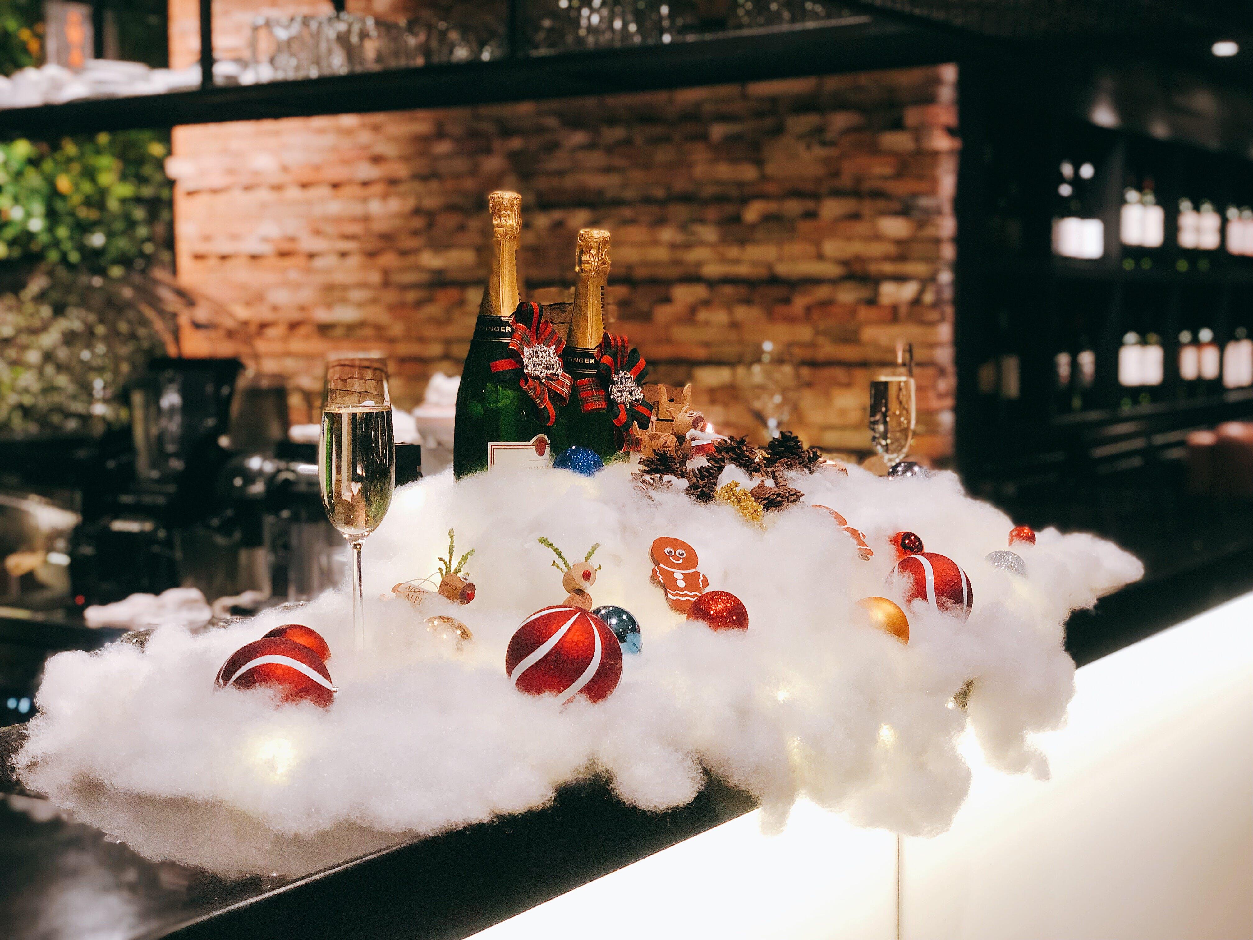 Gratis stockfoto met feest, flessen, kerstballen, Kerstmis