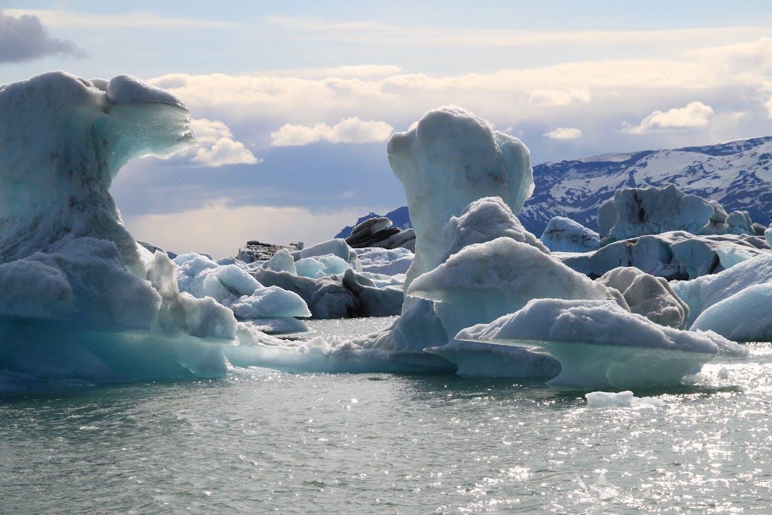 ทะเล, ธารน้ำแข็ง, น้ำ
