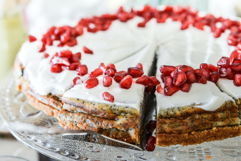 çalı meyveleri, dilim, Gıda, kek içeren Ücretsiz stok fotoğraf