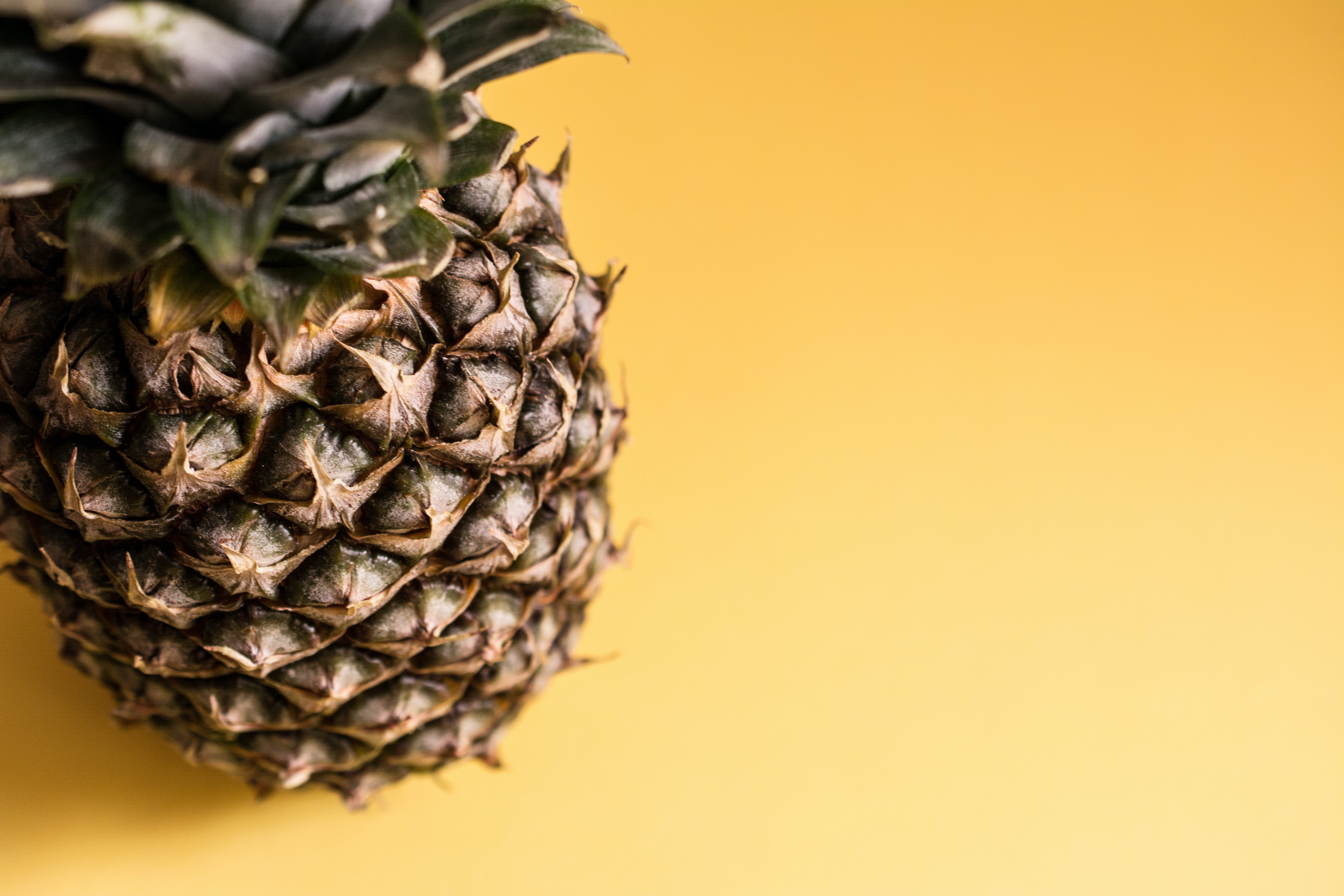 ananas, frugt, mad