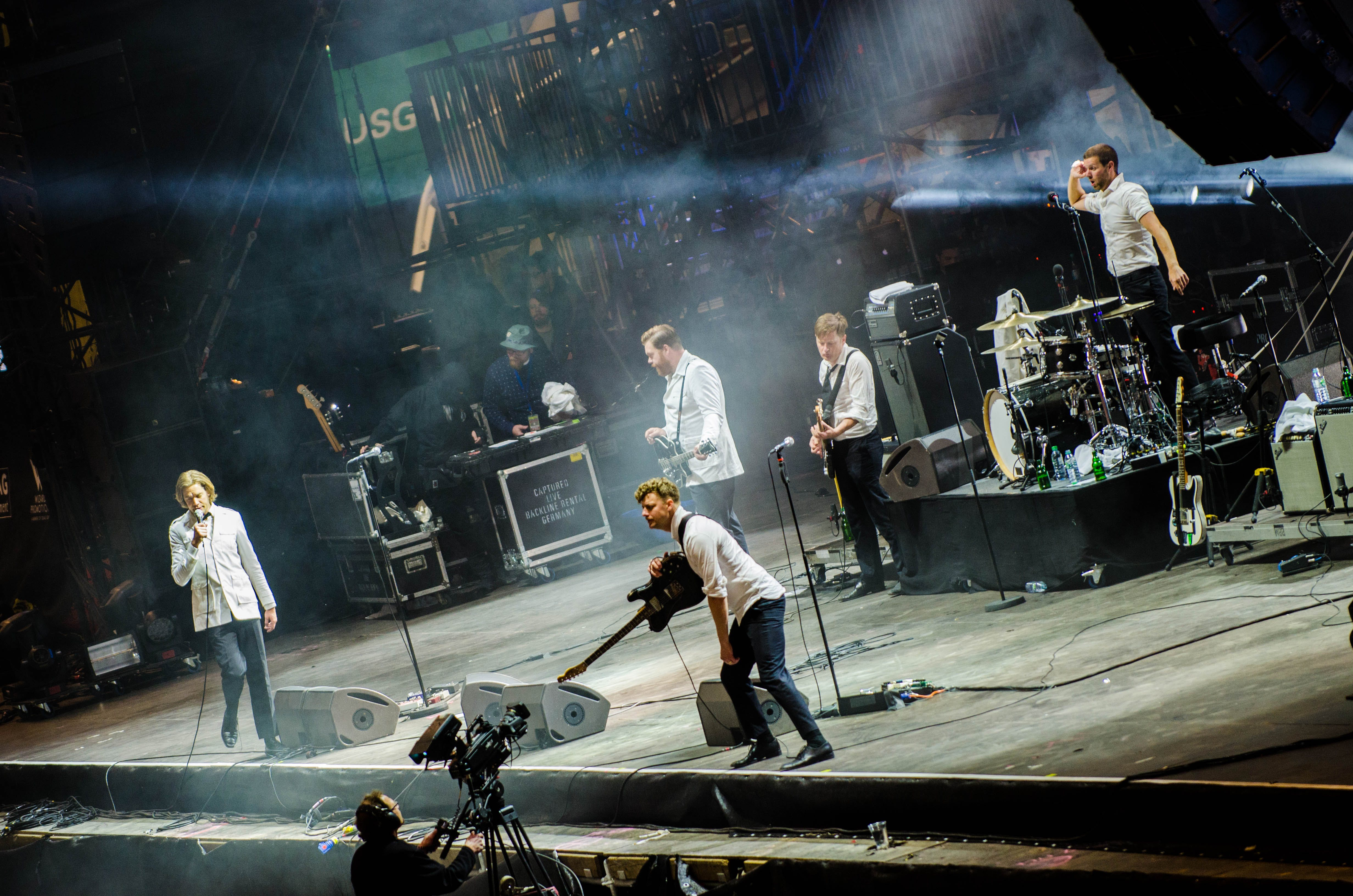 Free stock photo of The Hives - Rock Im Revier 2015