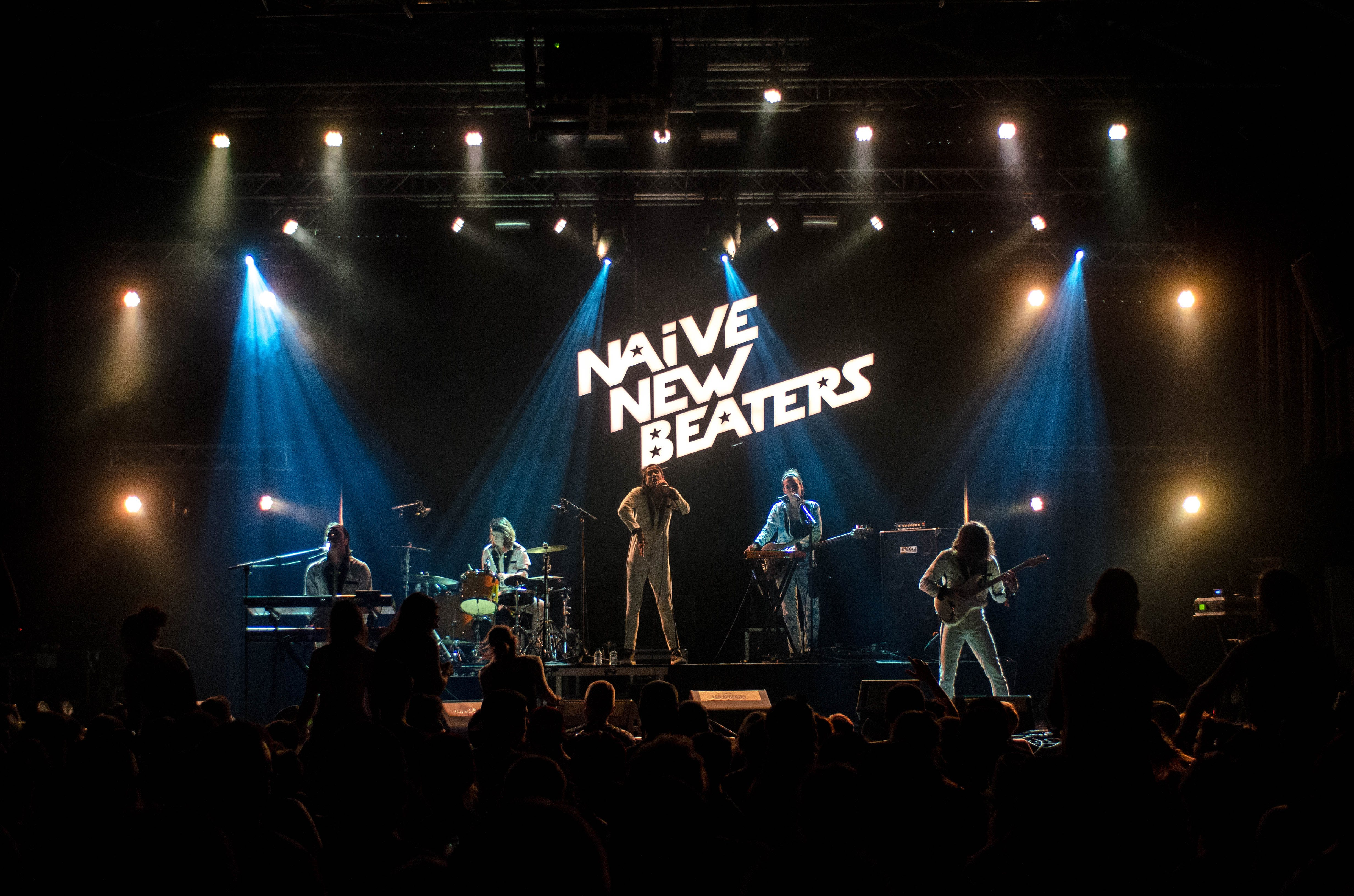 Naive New Beaters Band Inside Room