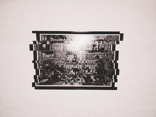 #mobilechallenge, cezaevi, matrix, Sanat Galerisi içeren Ücretsiz stok fotoğraf