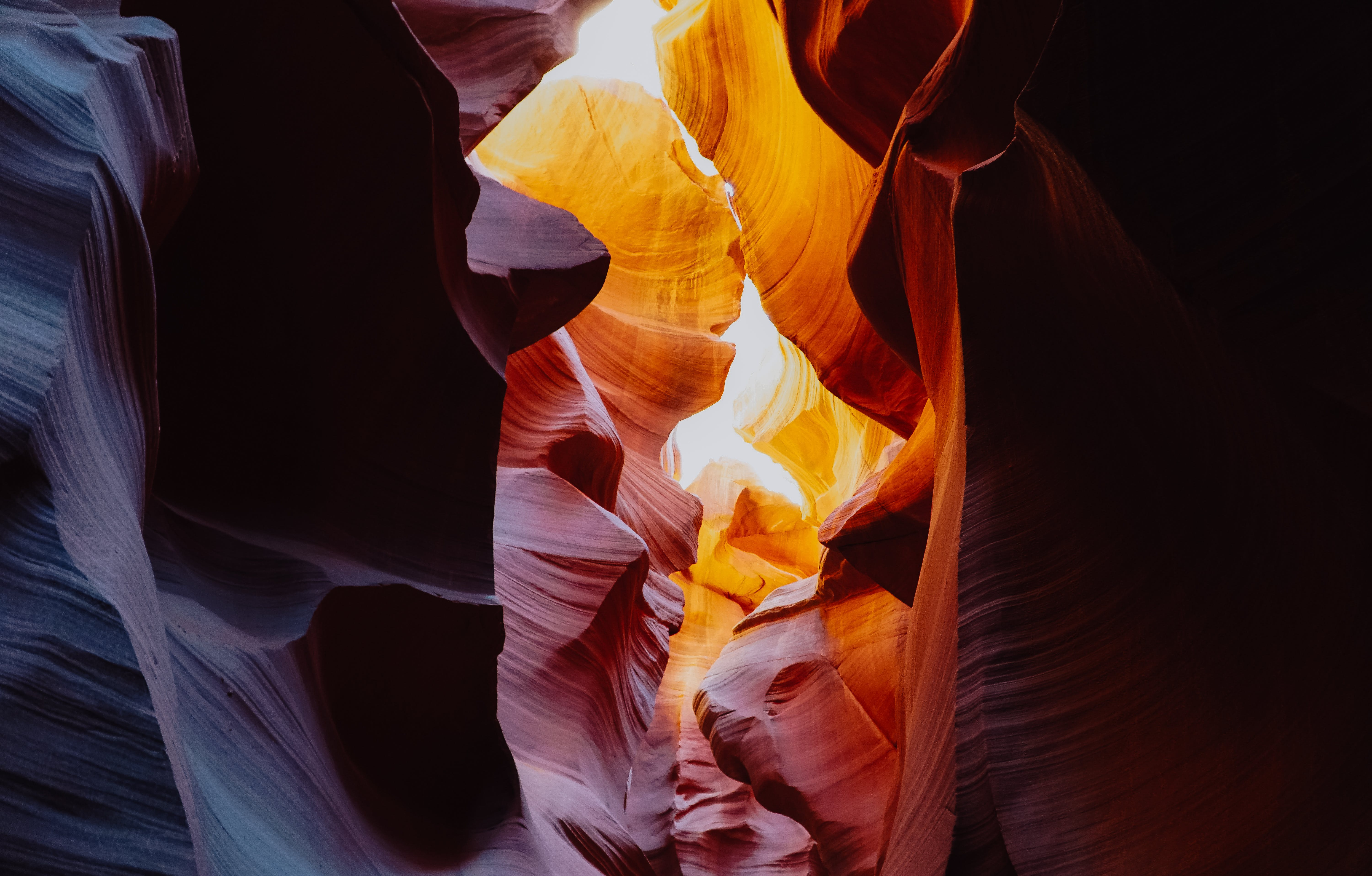 of colors, daylight, outdoors, rock formation