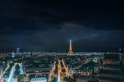 Gratis lagerfoto af aften, arkitektur, by, byens lys