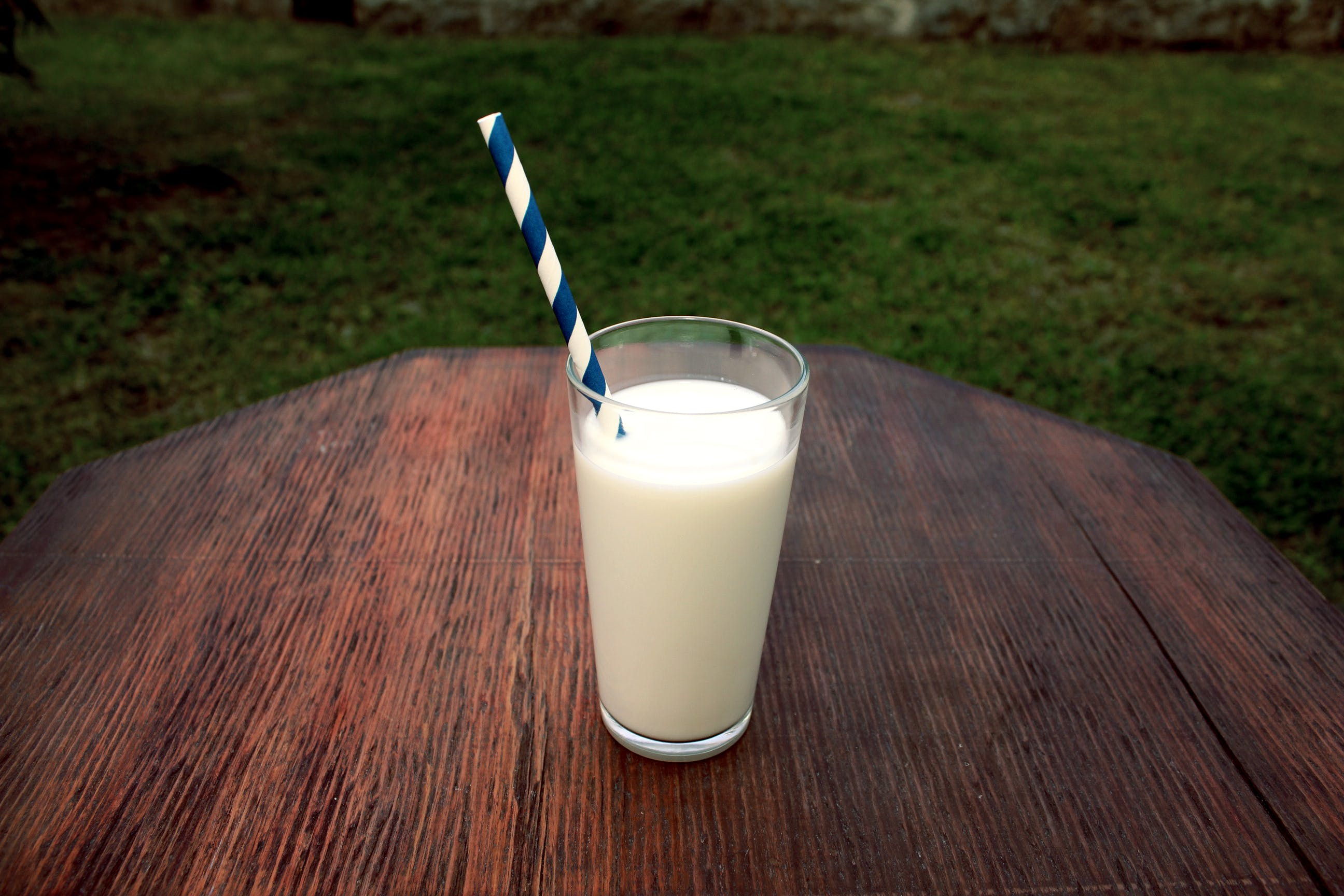 Photo of Glass Of milk On Table