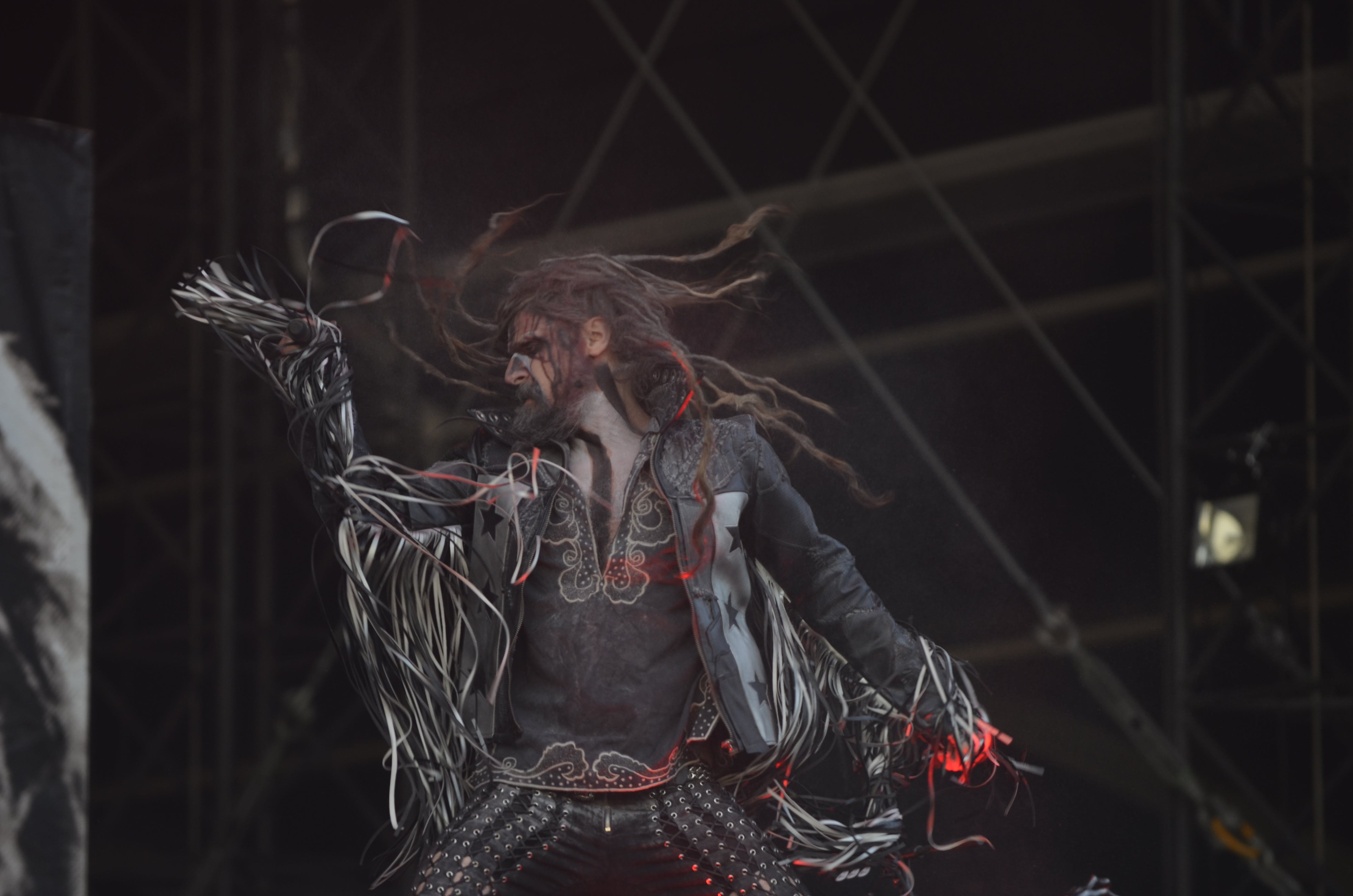 Free stock photo of Rob Zombie - Graspop 2014