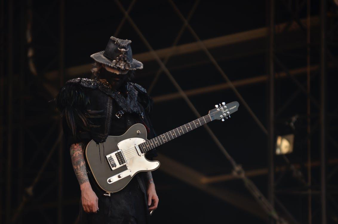 rob zombie  -  graspop 2014, 人, 吉他