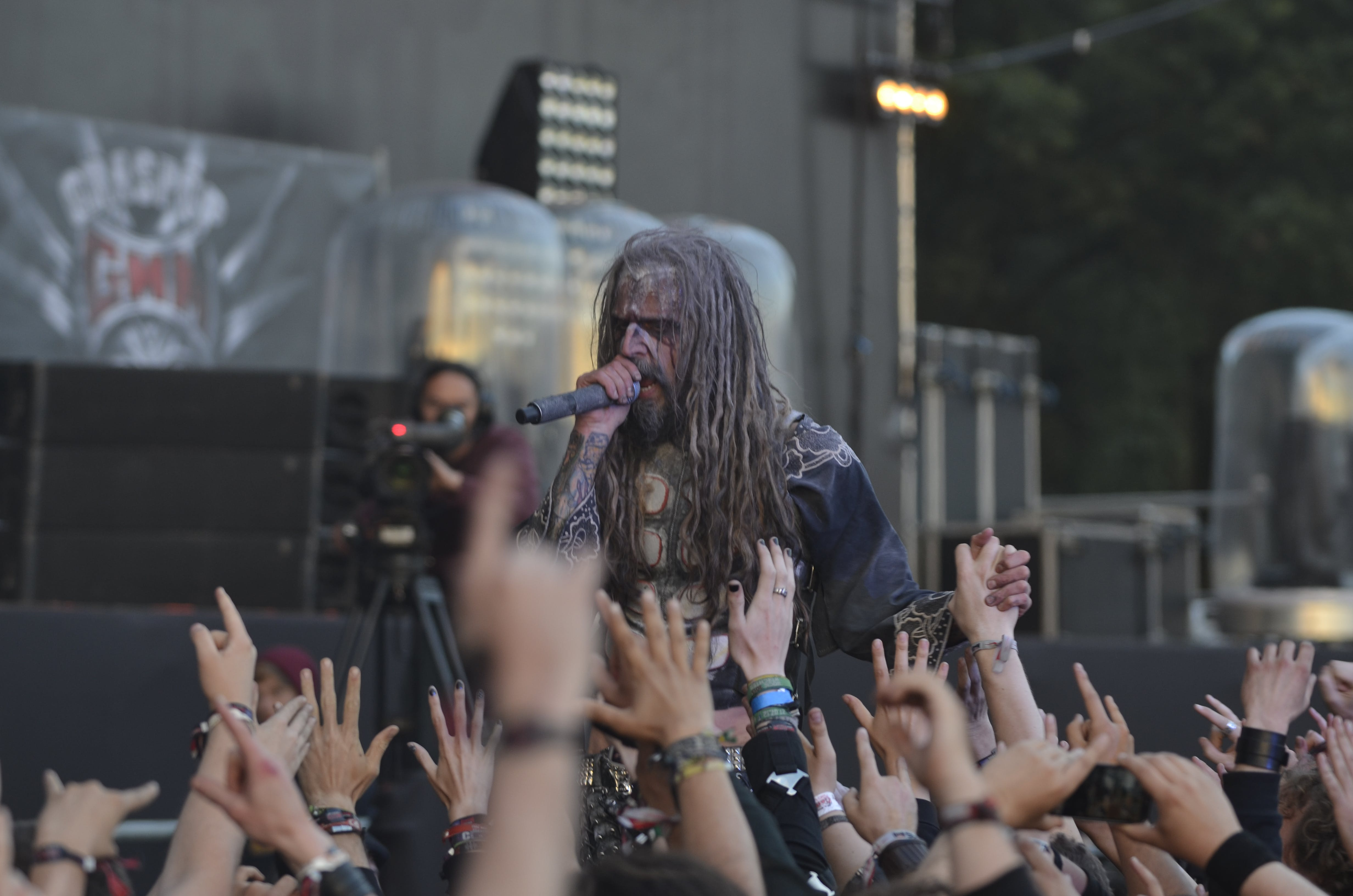 Free stock photo of Rob Zombie - Graspop 2014
