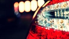 lights, glass, blur
