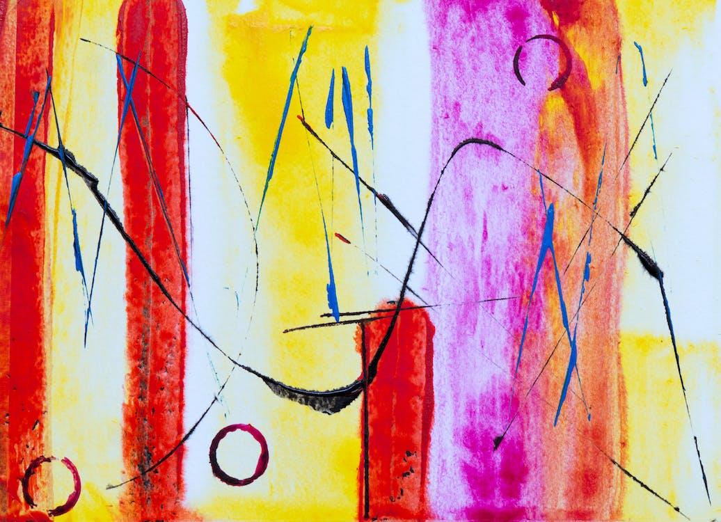 acrilico, arte, arte contemporanea