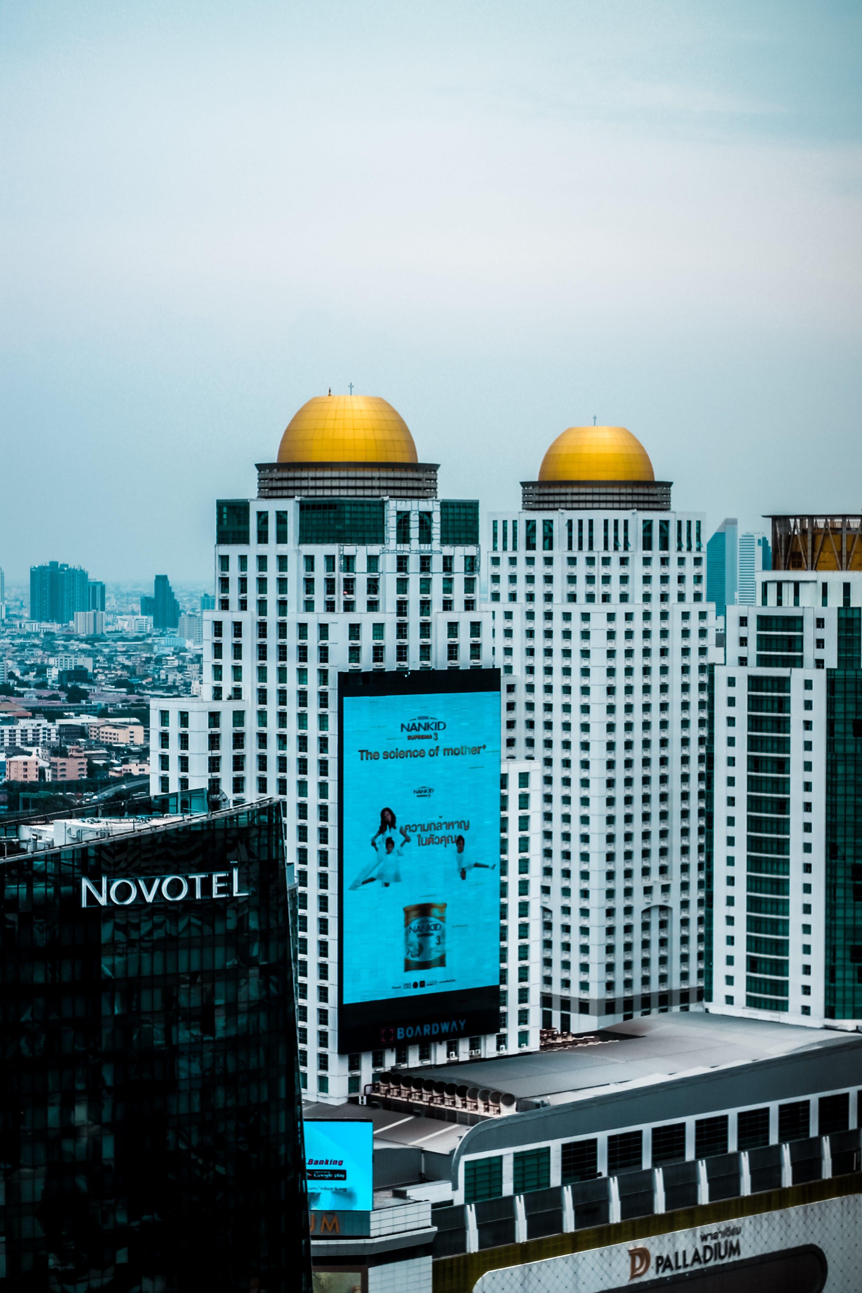 シティ, ダウンタウン, バンコク, 建物の無料の写真素材
