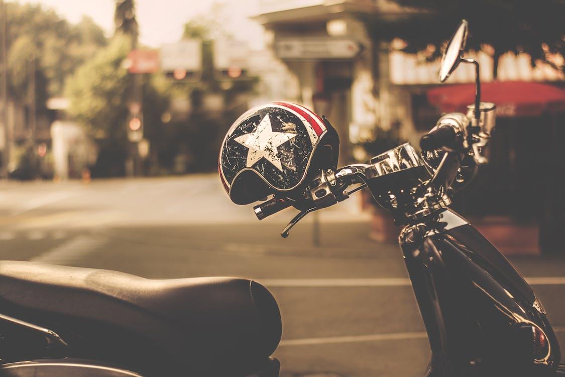 cesta, motocykel, motorka