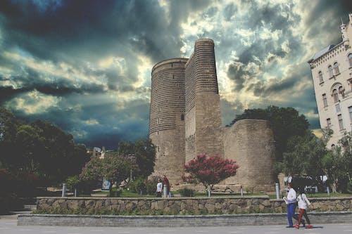 Gratis lagerfoto af arkitektur, aserbajdsjan, baku, by
