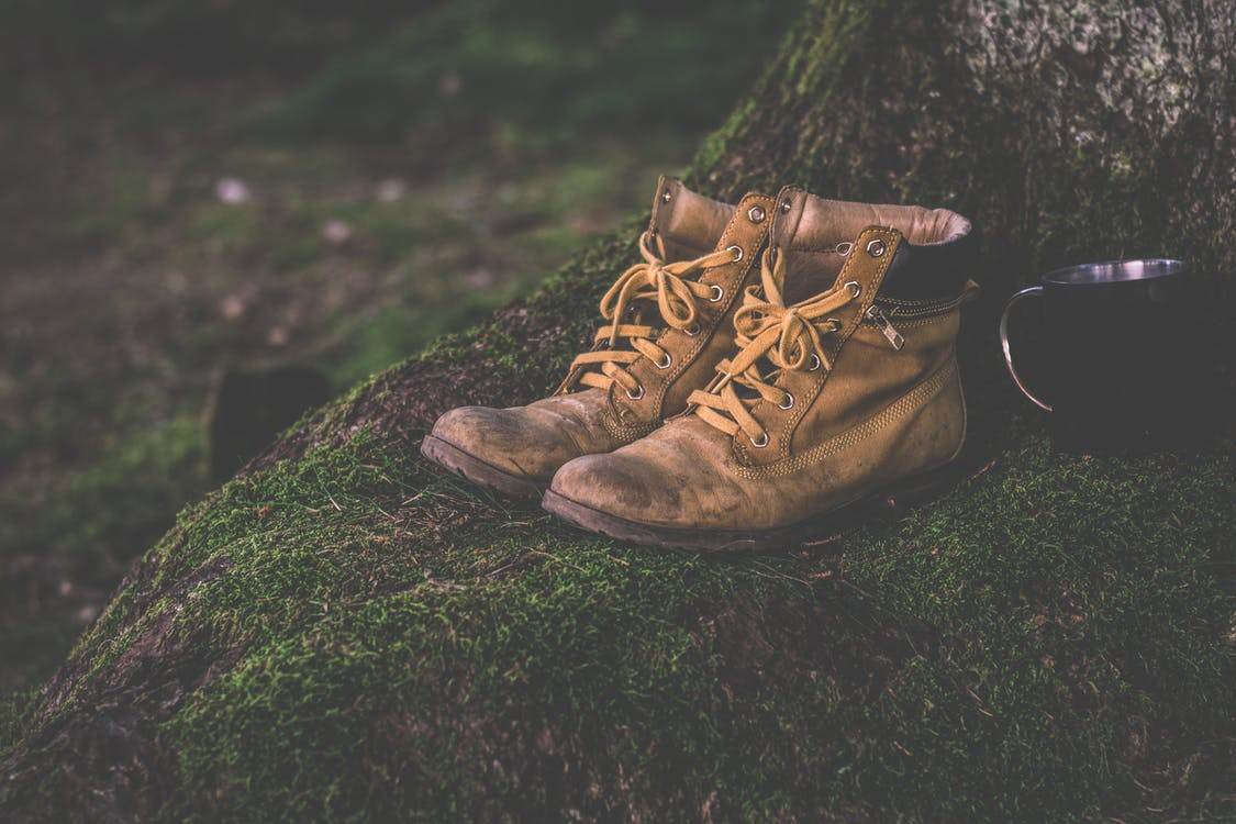 Brown Work Boots
