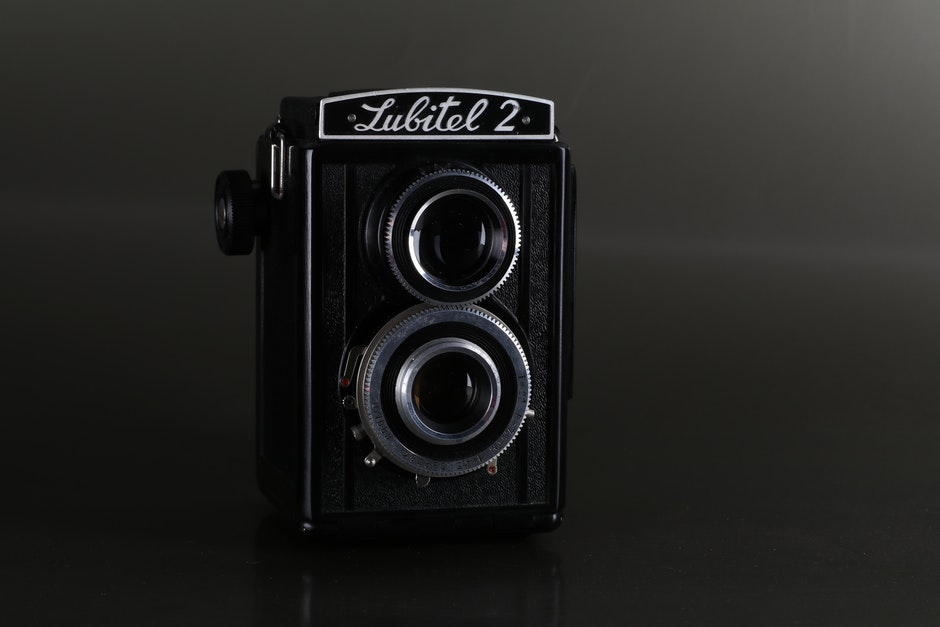 Black Lubitel 2 Camera