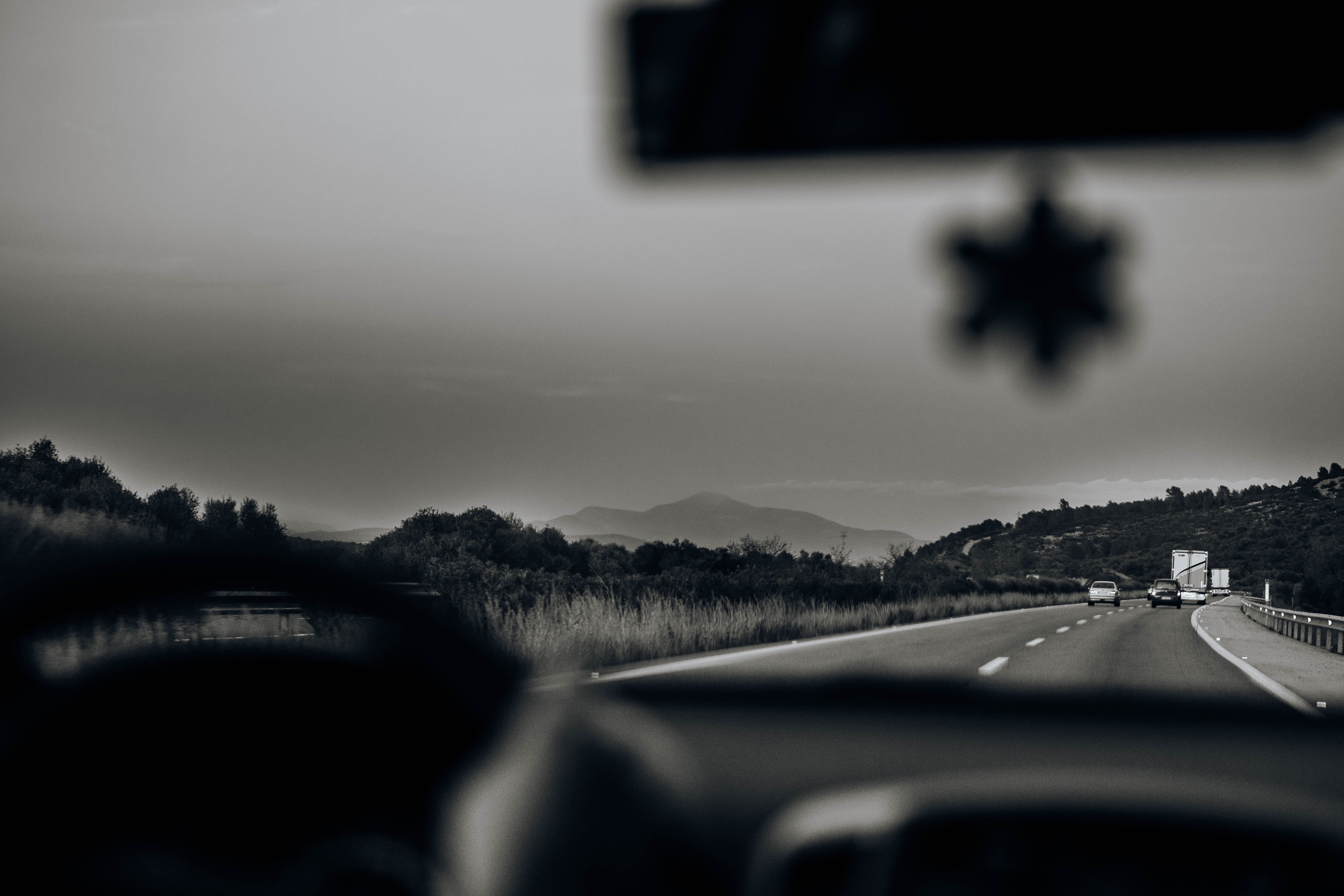 Free stock photo of black, car, driver, driving