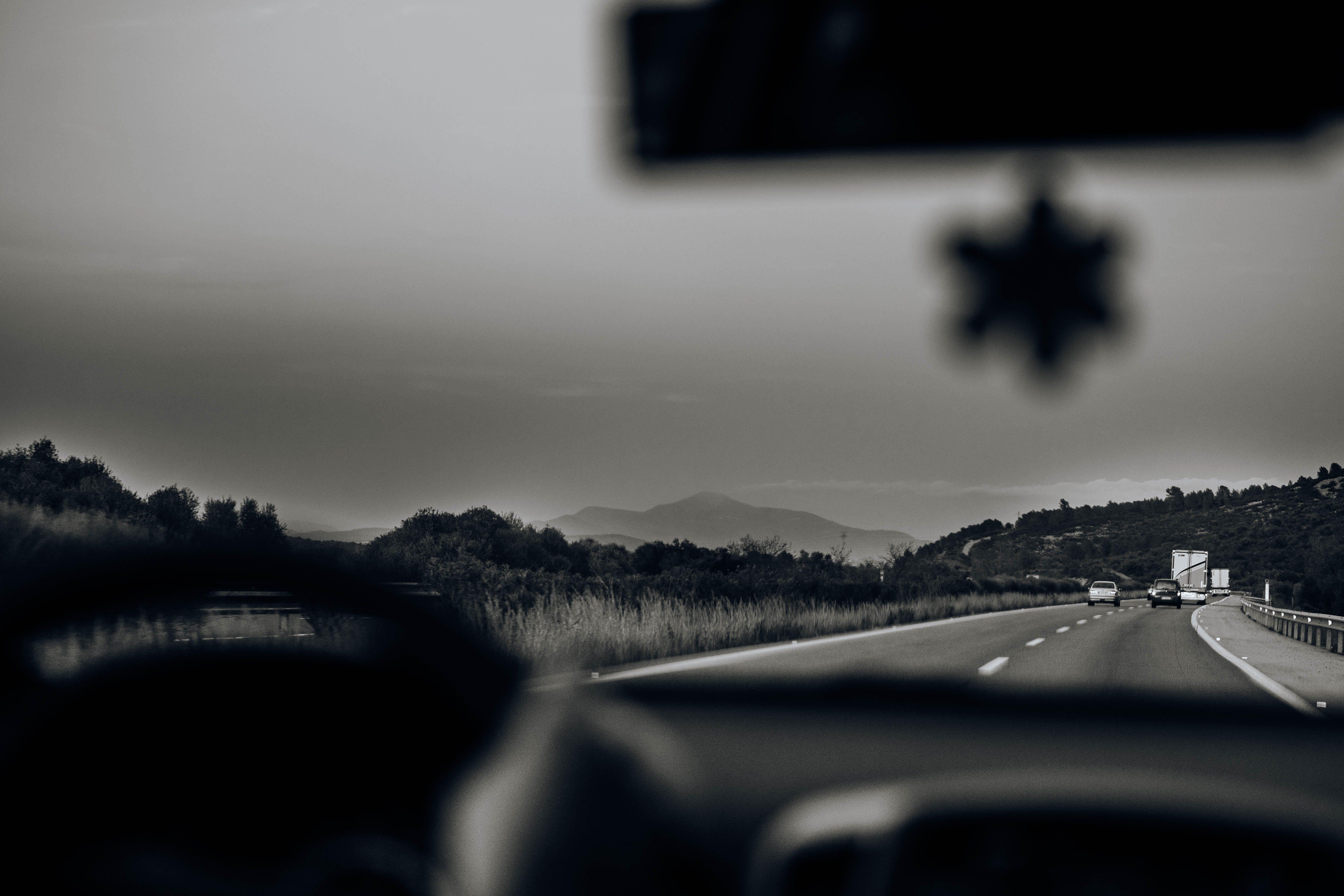 ドライバー, 運転する, 高速道路, 黒の無料の写真素材