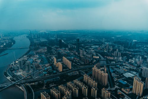 Gratis stockfoto met bird's eye view, China, dronefoto, gebouwen