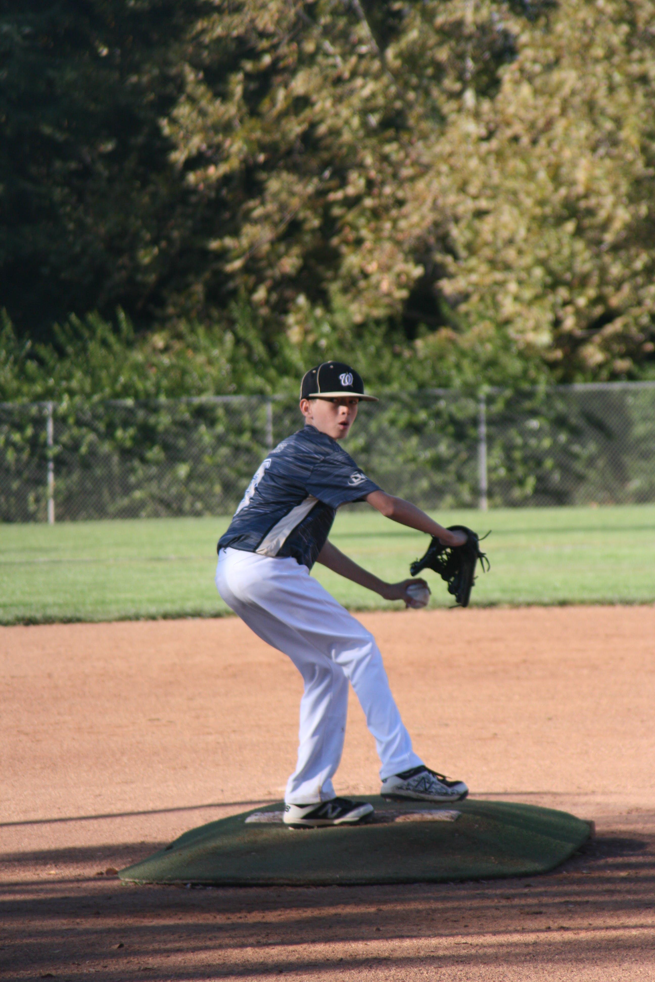 Photo of Boy Pitching Ball