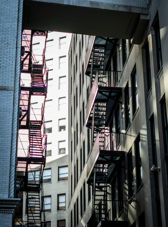 архитектура, здания, лестница