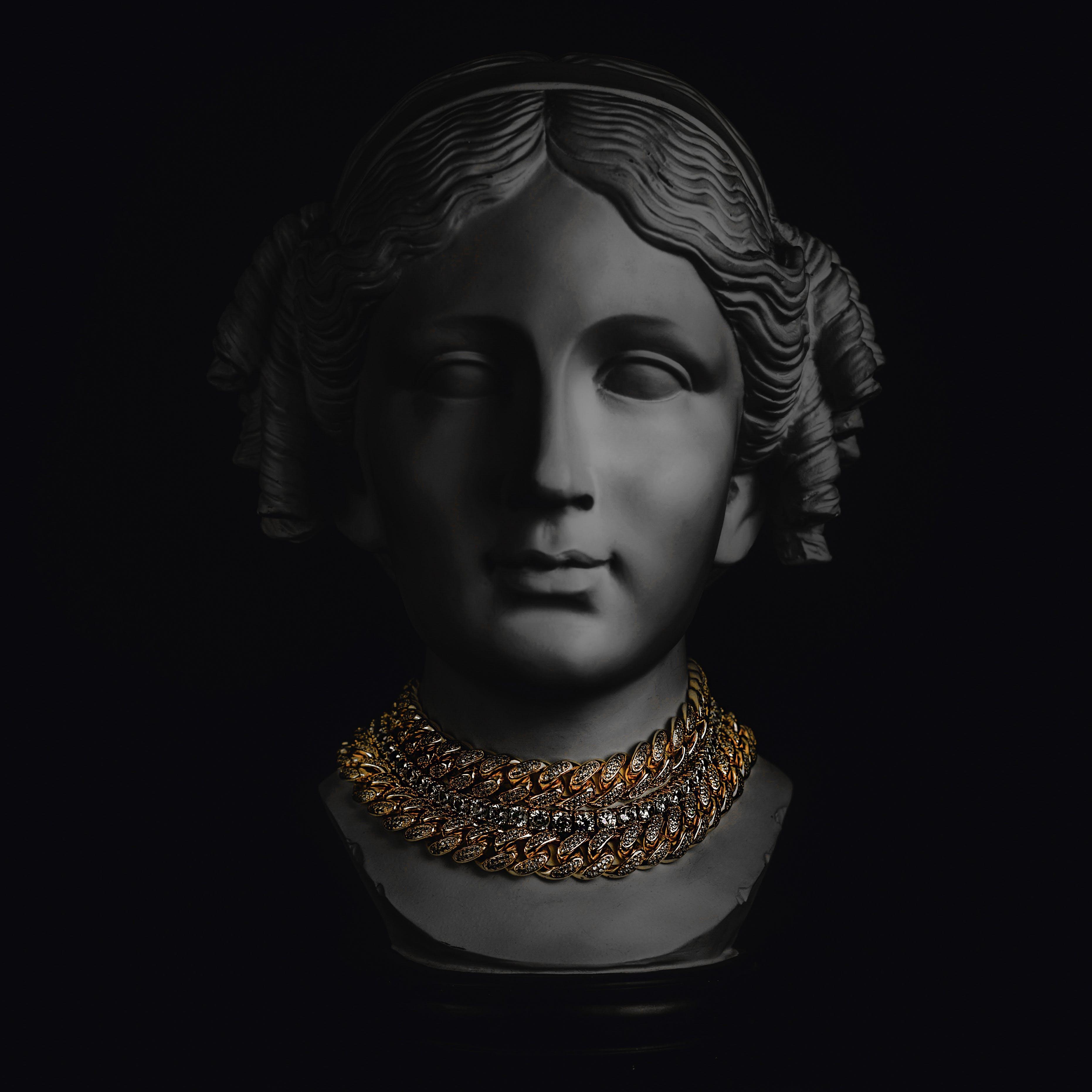 Gratis lagerfoto af close-up, diamant halskæde, diamanter, fotosession