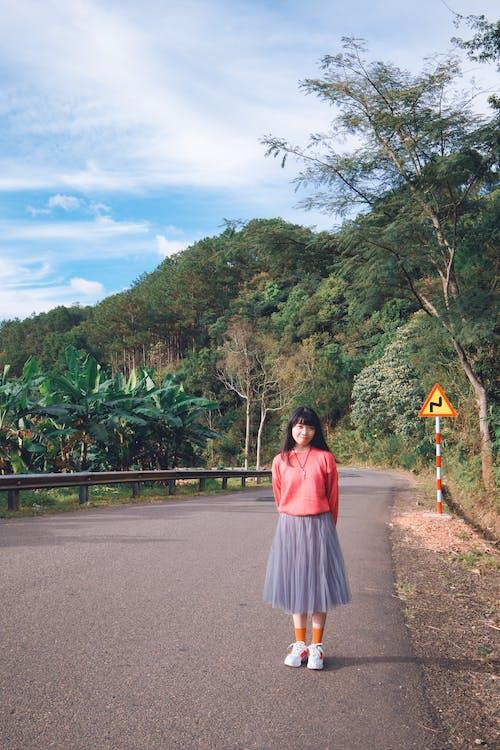 亞洲女人, 亞洲女孩, 可愛, 可愛的女孩 的 免费素材照片