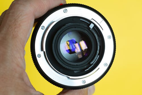 Free stock photo of camera lens, close-up, equipment, focus
