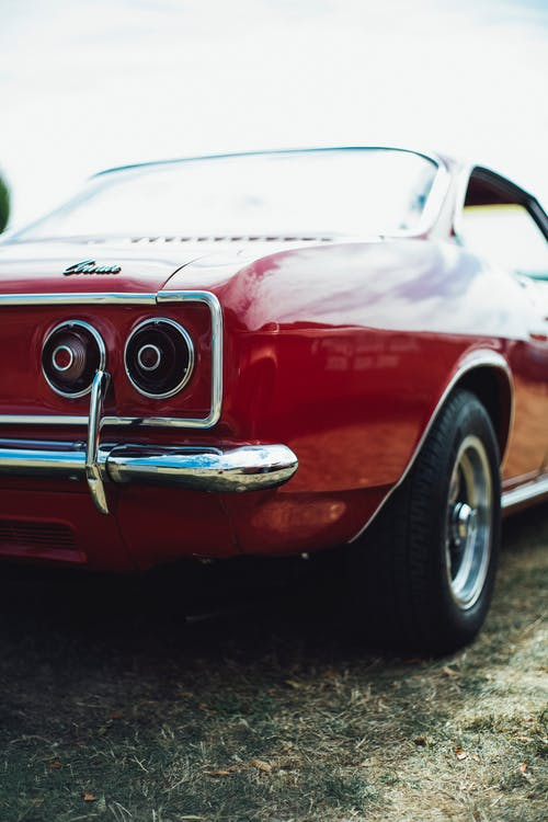 Photo of Red Muscle Car