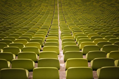 Free stock photo of audience, auditorium, bleachers, chairs