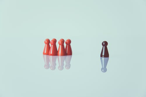 Free stock photo of chess pieces, color, conceptual, crowd