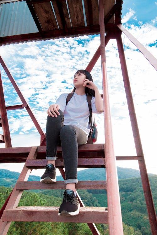 Fotos de stock gratuitas de asiática, belleza, bonito, escaleras