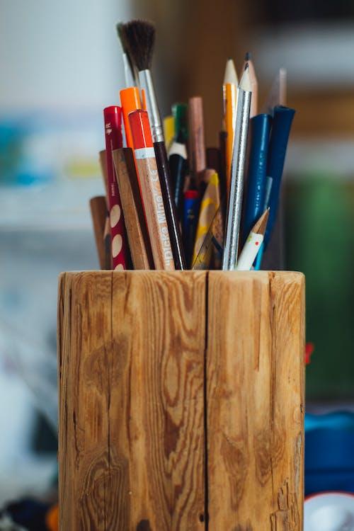 adentro, colores, de madera