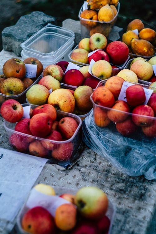 Free stock photo of apples, apricot, blur, delicious