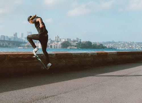 Gratis lagerfoto af atlet, dagslys, handling, mand