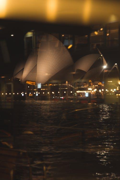 反射, 攝影, 晚上, 雪梨 的 免费素材照片