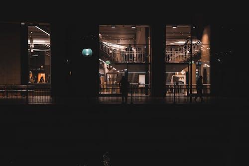 Foto stok gratis Arsitektur, cahaya, fasad, gelap