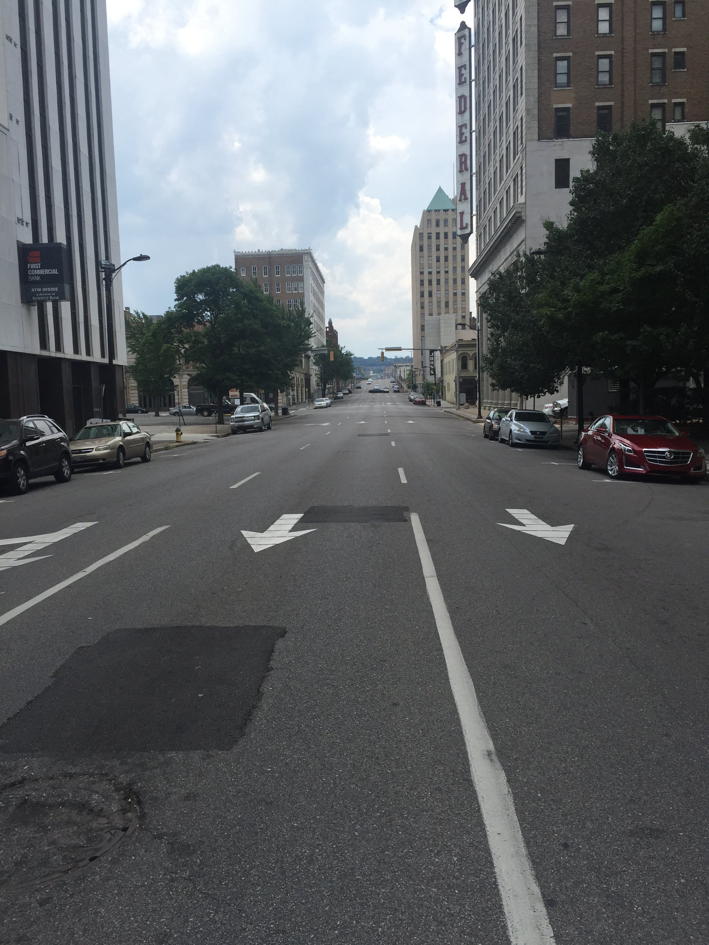 Free stock photo of alabama, birmingham, cars, crosswalk