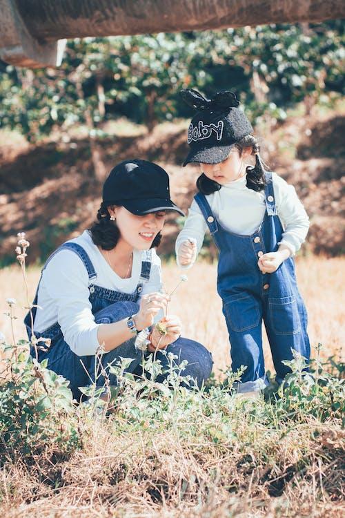 Základová fotografie zdarma na téma dcera, denní světlo, hřiště, krásný