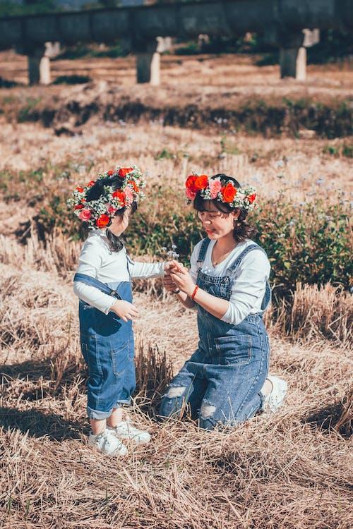 Immagine gratuita di agricoltura, amore, azienda agricola, bambino