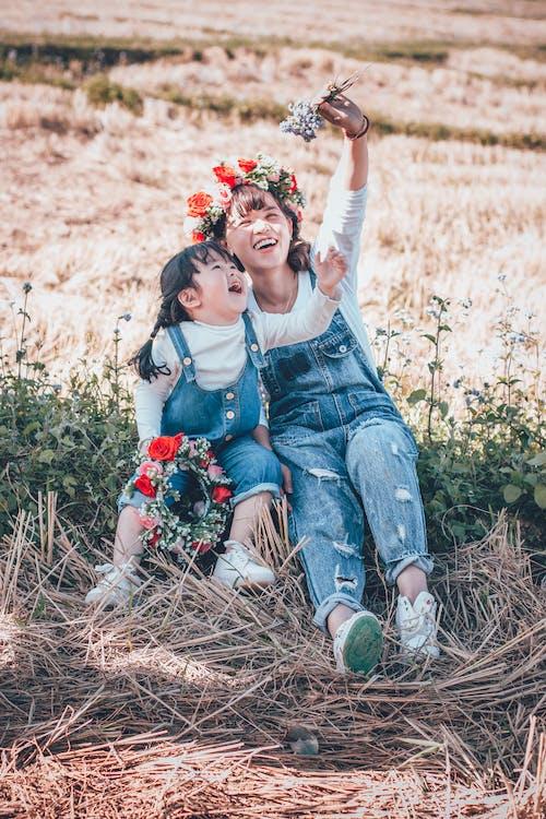 Základová fotografie zdarma na téma asijské holky, děti, holky, hřiště