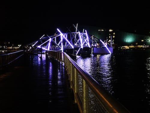 アムステルダム, ネオン, ブリッジ, ライトの無料の写真素材