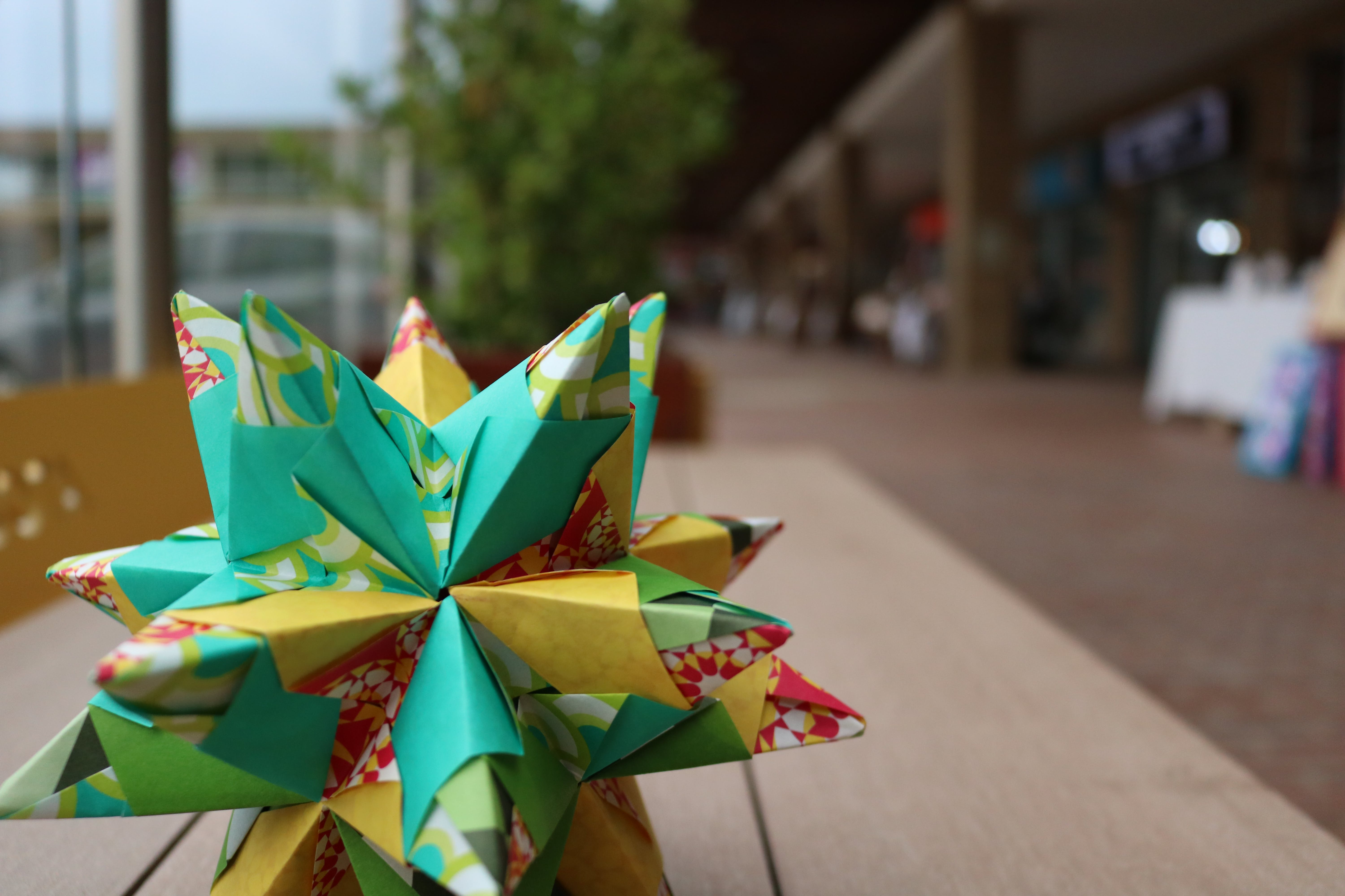 Free stock photo of close up, origami, star